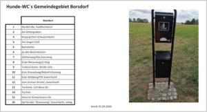 Read more about the article Hundetoiletten im Gemeindegebiet