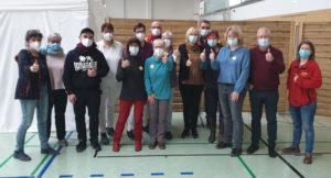 Read more about the article Impfung für 150 Borsdorfer Ü80-Senioren – Mobiles Impfteam in der Zweifeldhalle