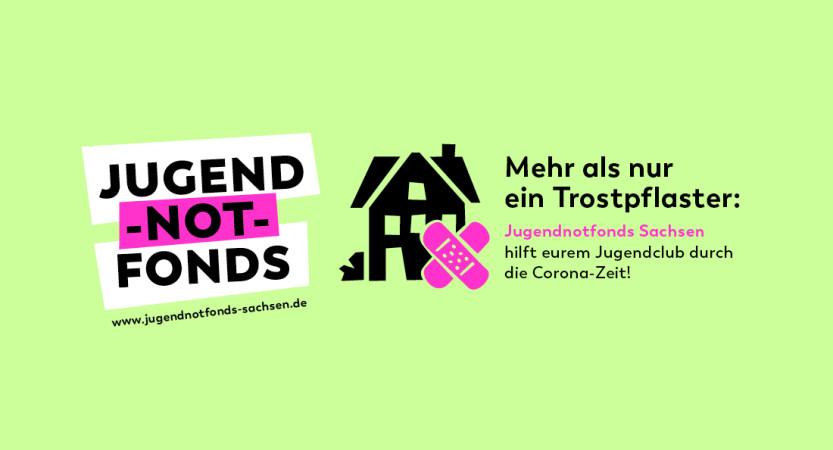Jugendnotfonds Sachsen unterstützt engagierte junge Menschen beim Erhalt ihrer selbstverwalteten Jugendclubs