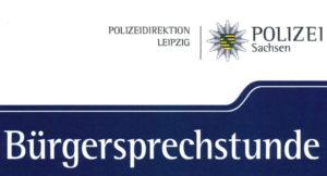 Read more about the article Bürgersprechstunde der Polizeidirektion Leipzig