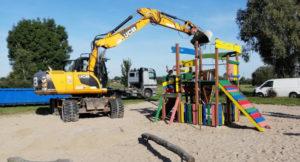 Read more about the article Neues zum Spielplatz in der Parthenaue